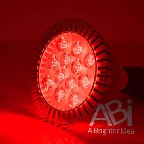 ABI 12W PAR38 LED Grow Light Bulb for Flowering