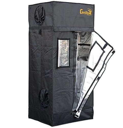"""Gorilla Grow Tent LTGGT22 Tent, 2' x 2.5' x 5'7"""""""