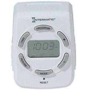 intermatic-dt122k-15 Two-Outlet Digital Timer