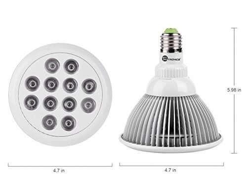 TaoTronics Hydroponic LED Grow Light