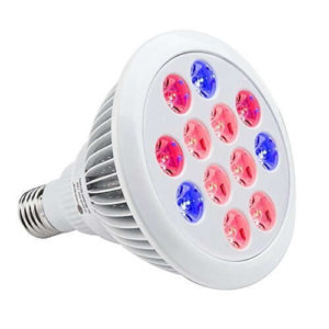 TaoTronics Led Grow light Bulb , Grow Plant Light for Hydropoics Greenhouse Organic ( E26 12w 3 Bands)