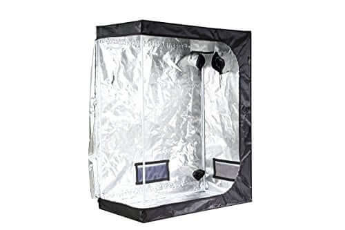 iPower GLTENTXS1 Mylar Hydroponic Grow Tent for growing cannabis at home