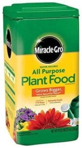 Miracle-Gro 1001233 All Purpose Plant Food - 5 Pound