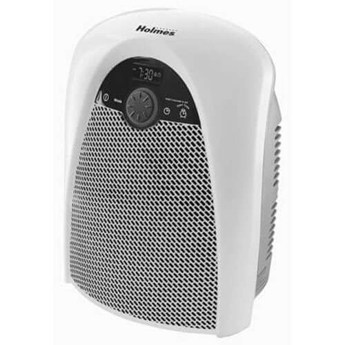 Holmes Digital Bathroom Heater Fan with Pre-Heat Timer and Max Heat Output, HFH436WGL-UM - heat your cannabis grow room