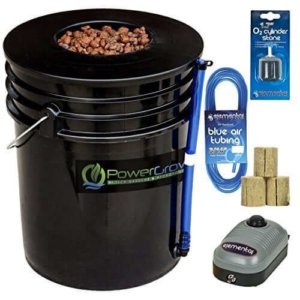 PowerGrow Systems Deep Water Culture (DWC) Hydroponic Bucket Kit