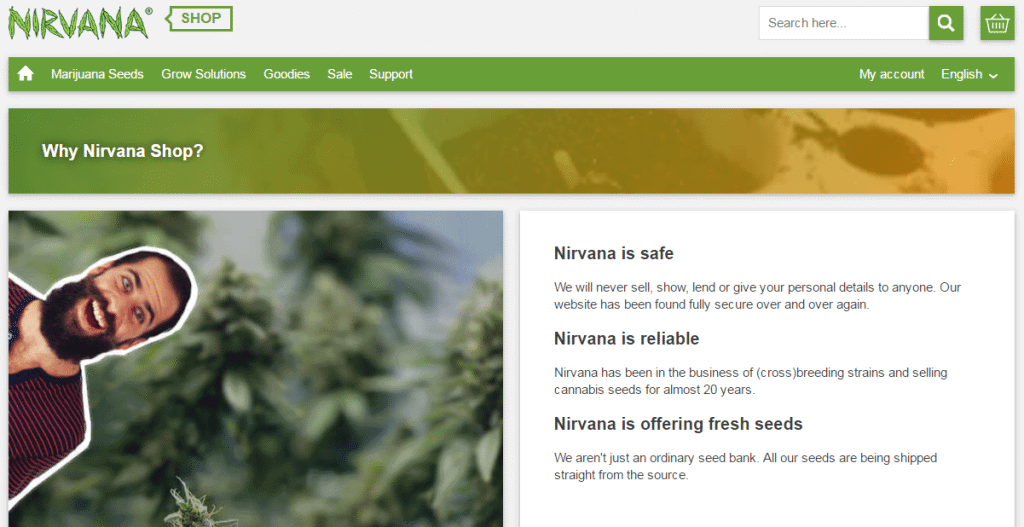 Nirvana Shop Marijuana Seedbank