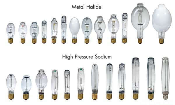 HID bulbs - HPS and Metal Halide