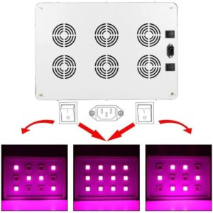 Morsen MAX12 3600W LED grow light dimmer settings