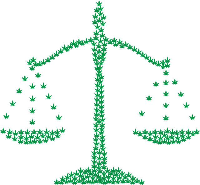 cannabis legalization - scales of justice