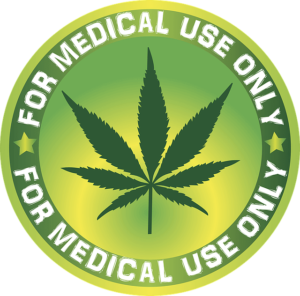 marijuana - medical use only logo