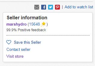 genuine MarsHydro eBay listing