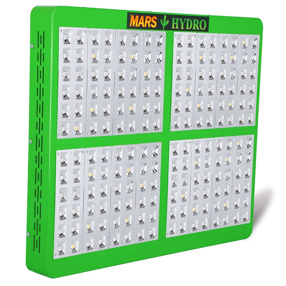 MarsHydro Mars Reflector 192 960W LED Grow Light Review: Quality & Brightness on a Budget