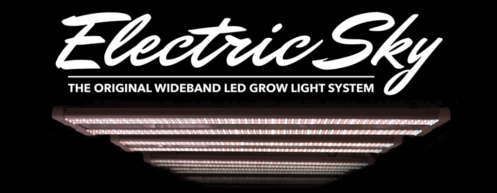 Electric Sky 300 giveaway - Green Sunshine Company LED grow lights