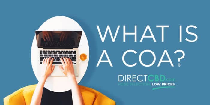 What Is a CoA from DirectCBD