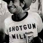 Shotgun Willie Nelson and beer