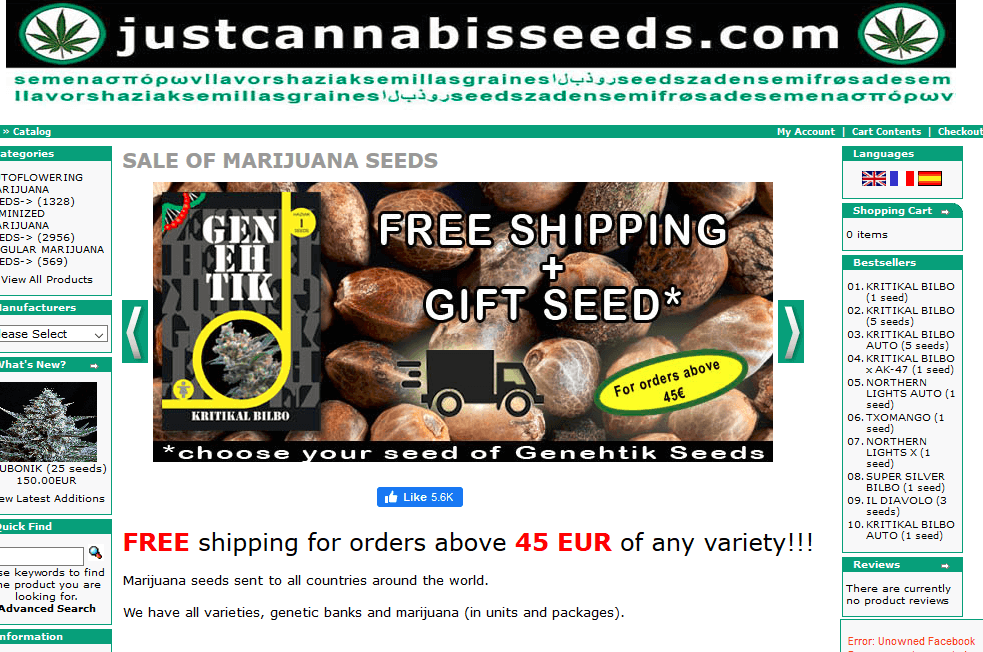 just cannabis seeds