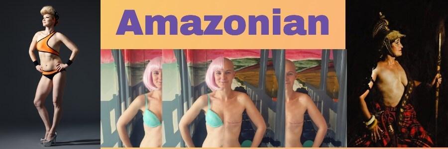 Amazonian women one breast