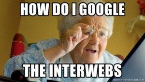 old lady interweb