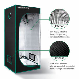 Indoor Grow Tent - 70x70x160cm